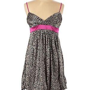 Ruby Rox Silk Dress